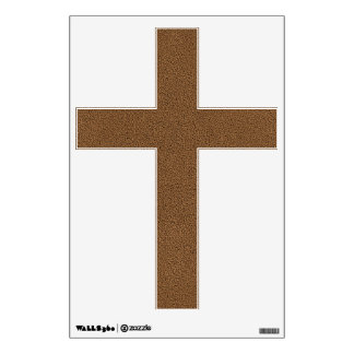 The look of Snuggly Coffee Brown Suede Texture Wall Decal