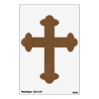 The look of Snuggly Coffee Brown Suede Texture Wall Sticker