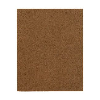 The look of Snuggly Coffee Brown Suede Texture Wood Print