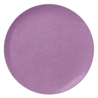 The look of Snuggly French Lilac Lavender Suede Melamine Plate