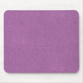 The look of Snuggly French Lilac Lavender Suede Mouse Pad
