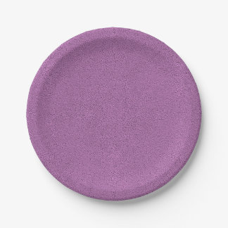The look of Snuggly French Lilac Lavender Suede Paper Plate