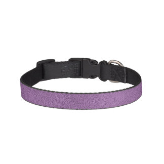 The look of Snuggly French Lilac Lavender Suede Pet Collar