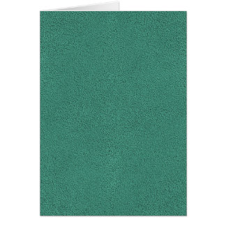 The look of Snuggly Jade Green Teal Suede Texture Card