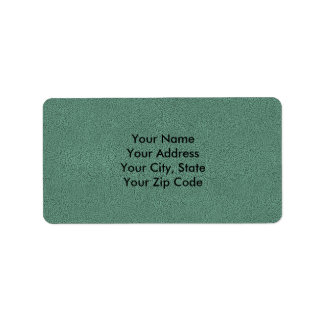 The look of Snuggly Jade Green Teal Suede Texture Label