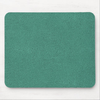 The look of Snuggly Jade Green Teal Suede Texture Mouse Pad