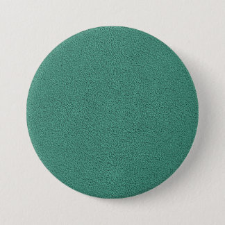 The look of Snuggly Jade Green Teal Suede Texture Pinback Button