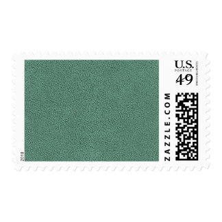 The look of Snuggly Jade Green Teal Suede Texture Postage