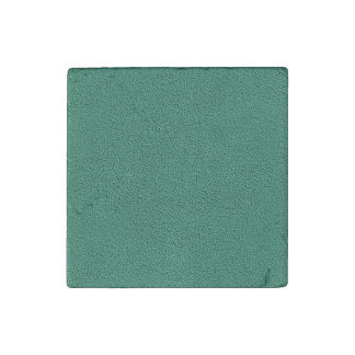 The look of Snuggly Jade Green Teal Suede Texture Stone Magnet