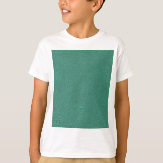 The look of Snuggly Jade Green Teal Suede Texture T-Shirt
