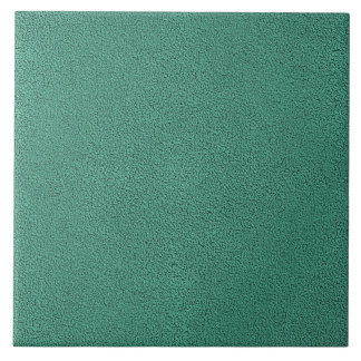 The look of Snuggly Jade Green Teal Suede Texture Tile