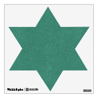 The look of Snuggly Jade Green Teal Suede Texture Wall Sticker