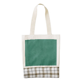 The look of Snuggly Jade Green Teal Suede Texture Zazzle HEART Tote Bag
