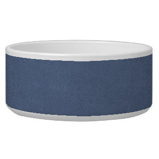 The look of Snuggly Slate Blue Suede Texture Bowl