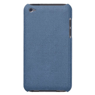 The look of Snuggly Slate Blue Suede Texture Case-Mate iPod Touch Case