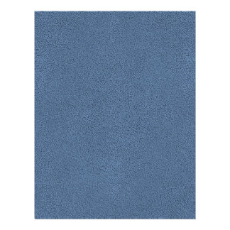 The look of Snuggly Slate Blue Suede Texture Flyer