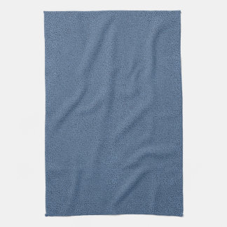 The look of Snuggly Slate Blue Suede Texture Hand Towel