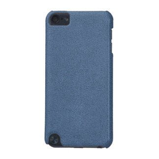 The look of Snuggly Slate Blue Suede Texture iPod Touch (5th Generation) Cover