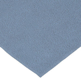 The look of Snuggly Slate Blue Suede Texture Medium Table Runner