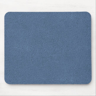 The look of Snuggly Slate Blue Suede Texture Mouse Pad