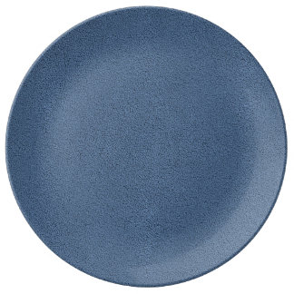 The look of Snuggly Slate Blue Suede Texture Plate