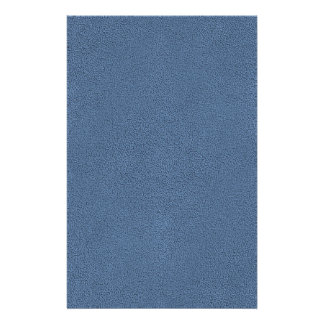 The look of Snuggly Slate Blue Suede Texture Stationery