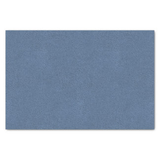 The look of Snuggly Slate Blue Suede Texture Tissue Paper