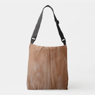 The Look of Soft Supple Brown Leather Grain Tote Bag