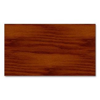 The Look of Warm Oak Wood Grain Texture Business Card Magnet