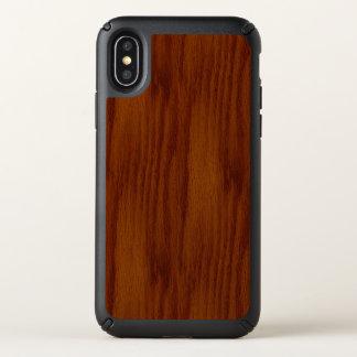 The Look of Warm Oak Wood Grain Texture Speck iPhone X Case