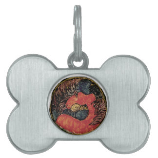 The Look Out Horse Pet Tag