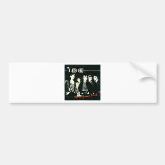 The Look - We're Gonna Rock Tour -  1981 Bumper Sticker