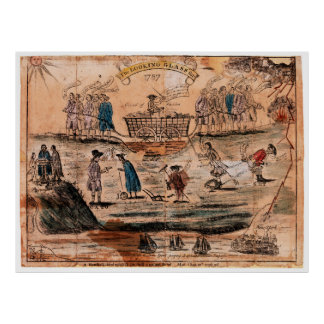 The Looking Glass for 1787 by Amos Doolittle Poster