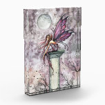 "The Lookout Fairy Fantasy Art Acrylic Decoration Acrylic Award<br><div class=""desc"">&quot;The Lookout&quot; &#169; Molly Harrison  www.mollyharrisonart.com</div>"