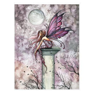 The Lookout Fairy Postcard by Molly Harrison