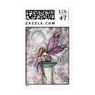 The Lookout Fantasy Fairy Postage Stamps
