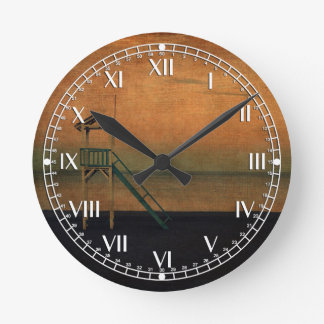 The Lookout Round Clock