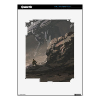 The Looter of The Last War iPad 2 Decal