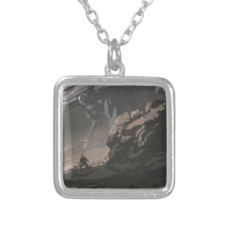 The Looter of The Last War Silver Plated Necklace