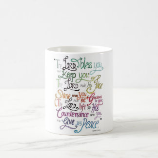 The Lord Bless and Keep You Colorful Classic Mug