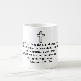 The Lord Bless Thee And Keep Thee Coffee Mug