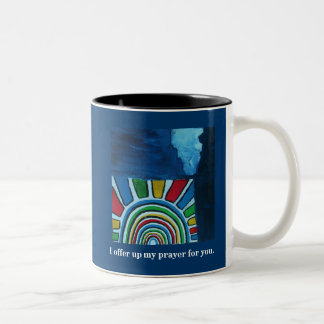 THE LORD BLESS YOU Two-Tone COFFEE MUG