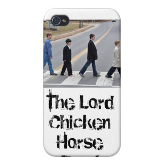 The Lord Chicken Horse Band iPhone 4 case
