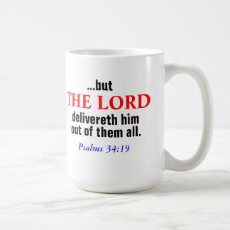 The Lord Delivers Mug