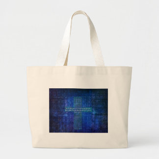 The LORD gives strength to his people Tote Bags