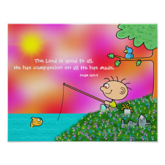 The Lord is Good to All Poster