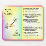 The Lord is My Editor--Colorful Mousepad
