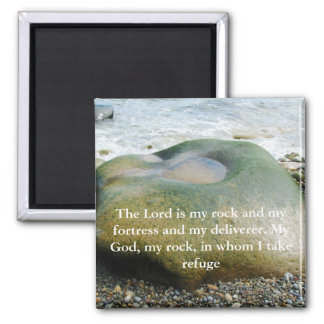 The Lord is My Rock Magnet