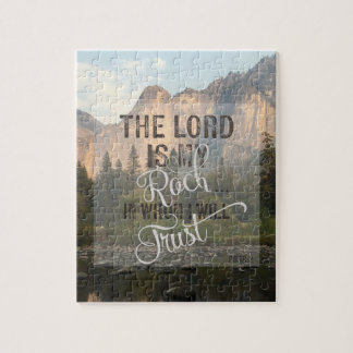 The Lord is my Rock - Ps 18:2 Jigsaw Puzzle