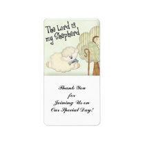 the lord is my shepard kids christian label